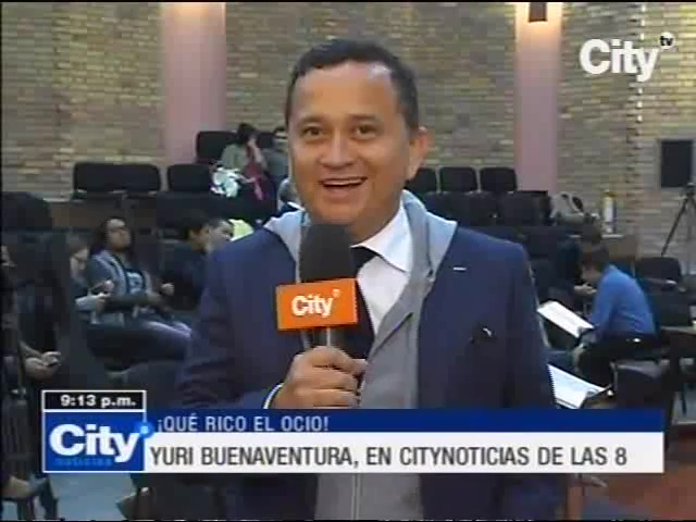 Yuri Buenaventura en City TV